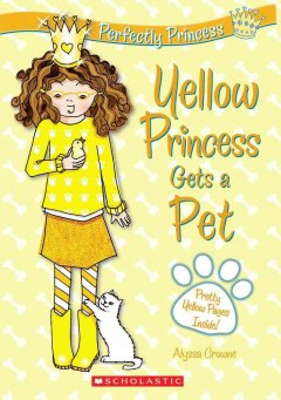 Yellow Princess Gets A Pet