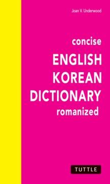 Concise English Korean Dictionary, Romanized