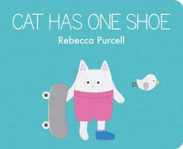 Cat Has One Shoe