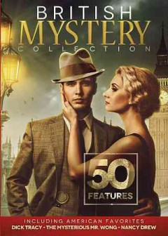 British Mystery Collection Including American Favorites