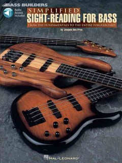 Simplified sight-reading for bass