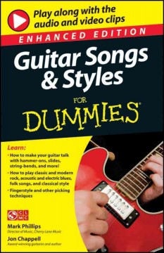 Guitar Songs & Styles for Dummies