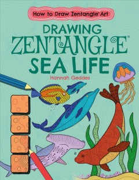 Drawing Zentangle Sea Life