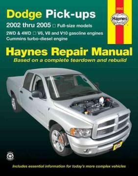 Dodge Pick-ups Automotive Repair Manual