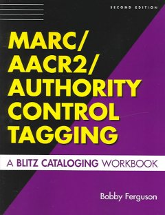 MARC/AACR2/authority Control Tagging