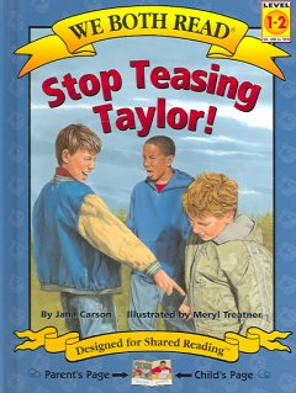 We Both Read : Stop Teasing Taylor!
