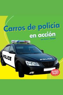 Carros de polic©Ưa en acci©đn (police cars on the go)