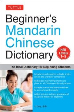 Beginner's Mandarin Chinese Dictionary