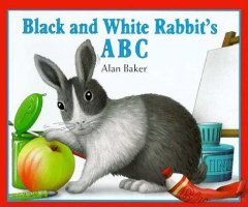 Black and White Rabbit's ABC