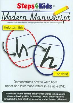 Steps4Kids to Write Modern Manuscript
