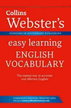 Collins Webster's Easy Learning English Vocabulary
