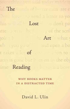 The Lost Art of Reading
