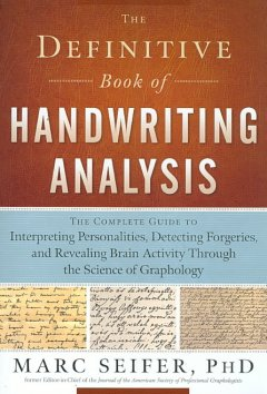 The Definitive Book of Handwriting Analysis