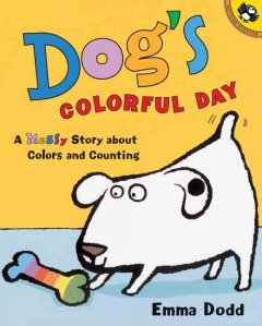Dog's Colorful Day