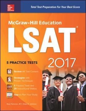 McGraw-Hill Education LSAT, 2017
