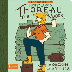 Henry David Thoreau in the Woods