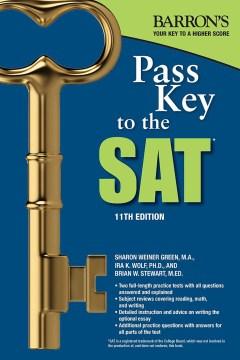 Barron's Pass Key to the SAT