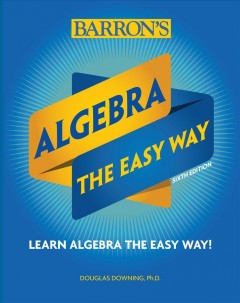 Algebra the Easy Way