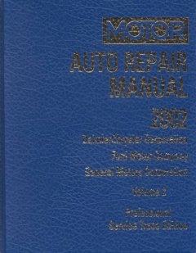 Motor Auto Repair Manual 2002