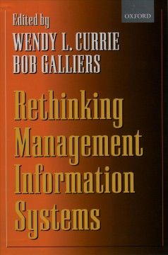 Rethinking Management Information Systems
