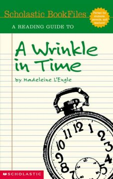 """A Reading Guide to """"A Wrinkle in Time"""" by Madeleine L'Engle"""
