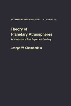 Theory of Planetary Atmospheres