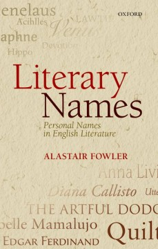 Literary Names