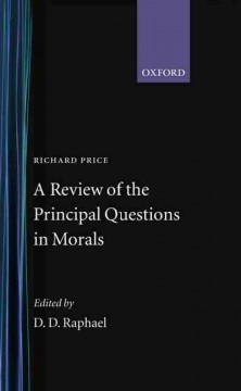 A Review of the Principal Questions in Morals
