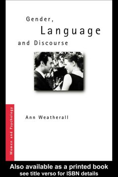 Gender, Language and Discourse