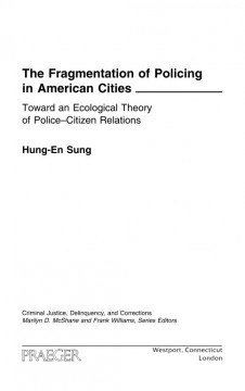 The Fragmentation of Policing in American Cities