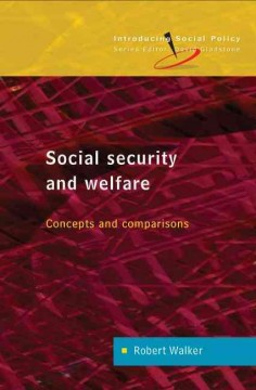 Social Security and Welfare