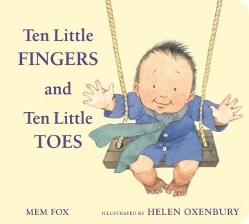 Ten Little Fingers Ten Little Toes Padded Board Bk