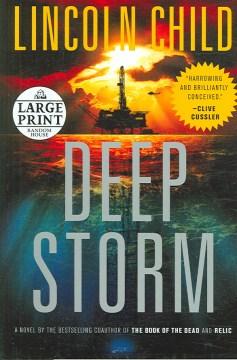 Deep Storm [text (large Print)]