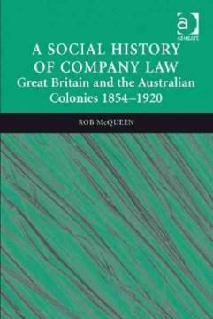 A Social History of Company Law