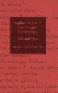 Sophocles' Use of Psychological Terminology
