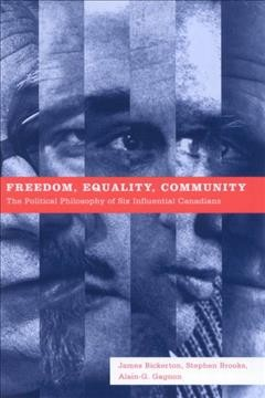 Freedom, Equality, Community