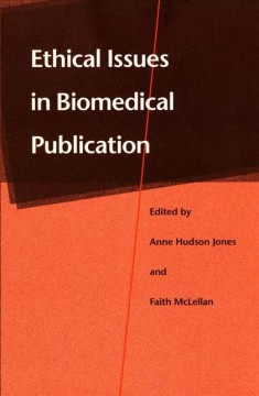 Ethical Issues in Biomedical Publication