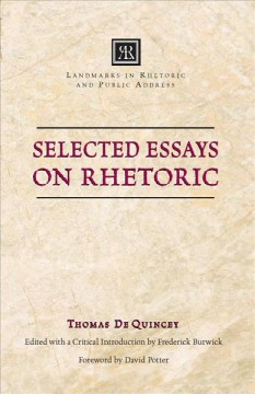 Selected Essays on Rhetoric