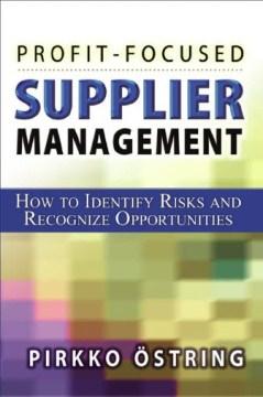 Profit-focused Supplier Management