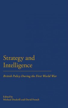 Strategy and Intelligence