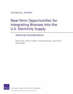 Near-term Opportunities for Integrating Biomass Into the U.S. Electricity Supply