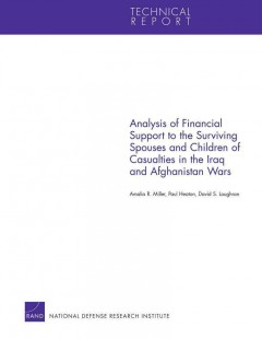 Analysis of Financial Support to the Surviving Spouses and Children of Casualties in the Iraq and Afghanistan Wars