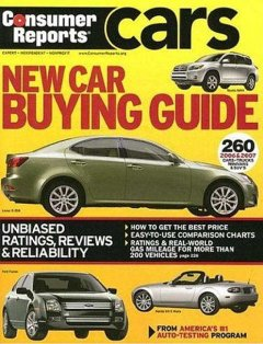 Consumer Reports New Car Buying Guide