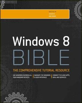 Windows 8 Bible