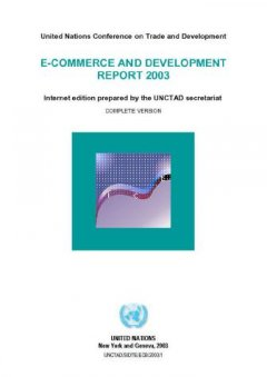 E-Commerce and Development Report 2003