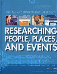 Researching People, Places, and Events