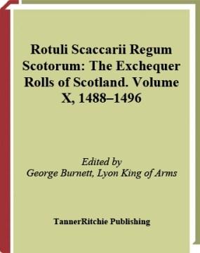 Exchequer Rolls of Scotland