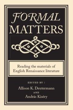 Formal Matters