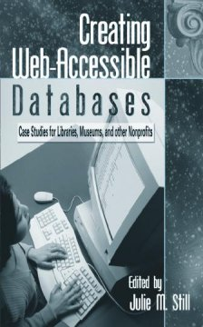 Creating Web-accessible Databases