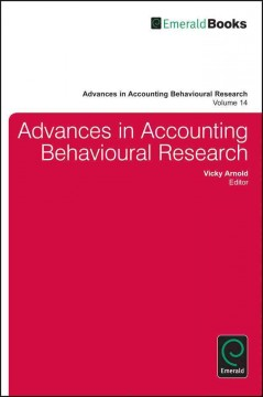 Advances in Accounting Behavioral Research